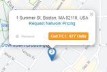 FCC 477 Data FiberLocator button