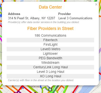 data center info