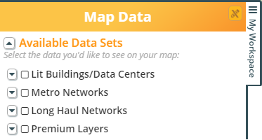 map data layers
