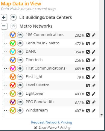 metro networks listing