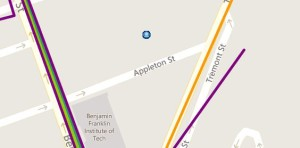 Street map level